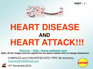HEART DISEASE HEART ATTACK!!!