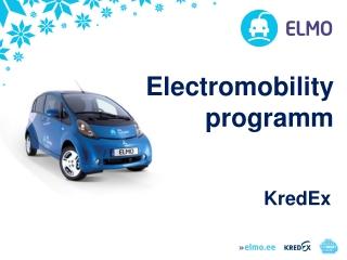 Electromobility programm