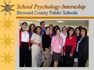 School Psychology Internship Broward County Public Schools