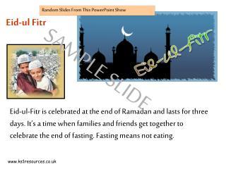 Eid-ul Fitr