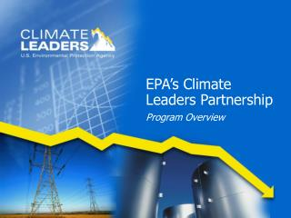 EPA's Climate Leaders Partnership Program Overview