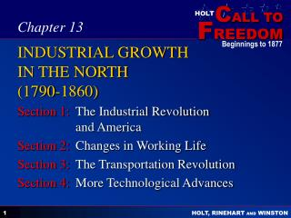 changes during the industrialization of the north in 1790 1860