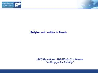 Religion and  politics in Russia