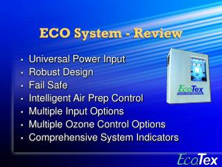 ECO System - Review