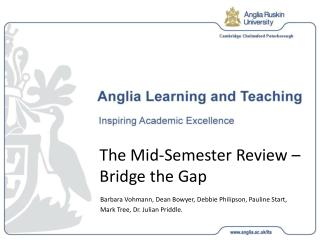 The Mid-Semester Review – Bridge the Gap