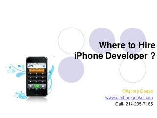 Where to hire iphone developers?