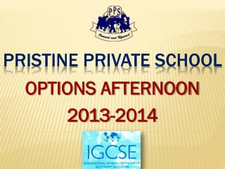 PRISTINE PRIVATE SCHOOL