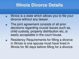 Illinois Divorce Details