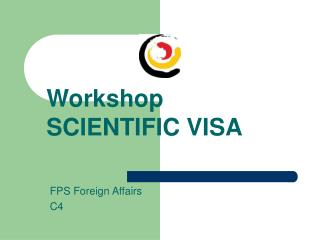 Workshop SCIENTIFIC VISA