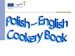 Polish – English Cookery Book