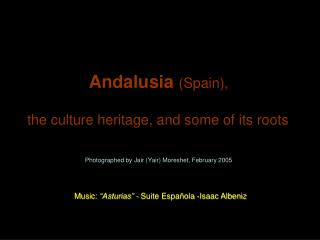 Andalusia  (Spain),