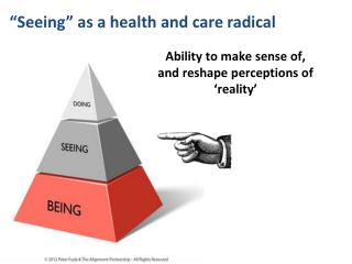 """Seeing"" as a health and care radical"