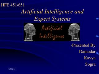 Artificial Intelligence and Expert Systems