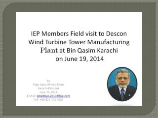 IEP Members Field Trip to Descon Facilities on June 19, 2014-0