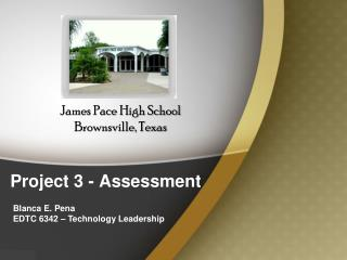 Project 3 -  Assessment