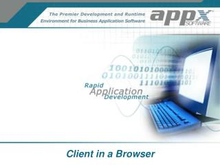 Client in a Browser
