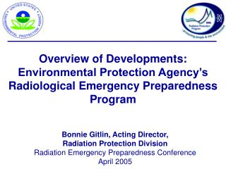 Bonnie Gitlin, Acting Director,  Radiation Protection Division