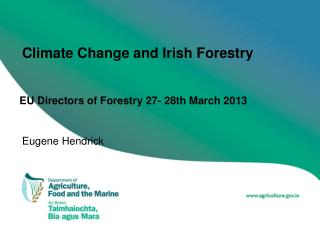 Climate Change and Irish Forestry