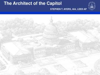 The Architect of the Capitol