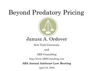 Beyond Predatory Pricing