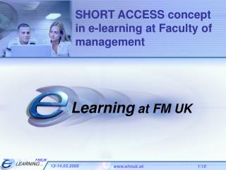 Learning at FM UK