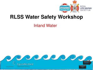 RLSS Water Safety Workshop