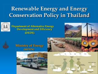 Renewable Energy and Energy Conservation Policy in Thailand