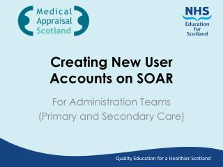 Creating New User Accounts on SOAR