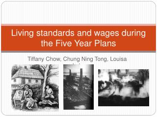 Living standards and wages during the Five Year Plans