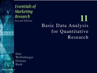 Basic Data Analysis for Quantitative Research