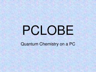 PCLOBE
