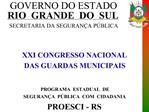 GOVERNO DO ESTADO RIO  GRANDE  DO  SUL  SECRETARIA DA SEGURAN A P BLICA
