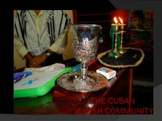 The Cuban  Jewish Community