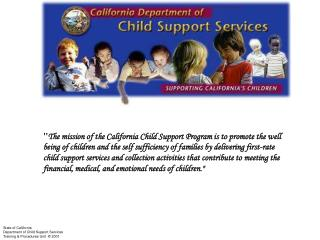 CCSP Mission Statement