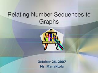 Relating Number Sequences to Graphs