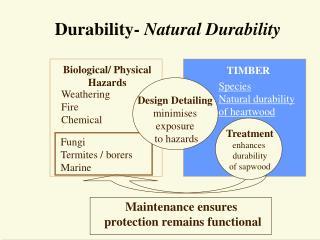 Durability- Natural Durability