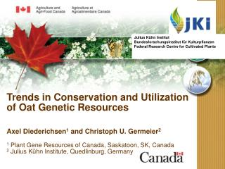 Trends in Conservation and Utilization of Oat Genetic Resources