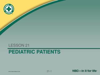 PEDIATRIC PATIENTS