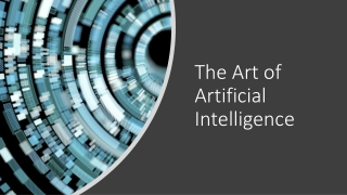 The Art of Artificial Intelligence
