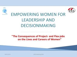 EMPOWERING WOMEN FOR LEADERSHIP AND DECISIONMAKING