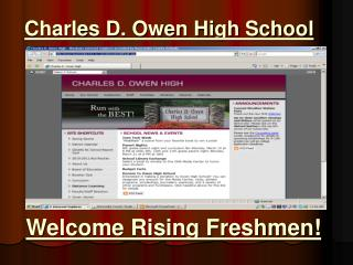 Charles D. Owen High School