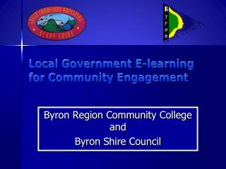 Local Government E-learning for Community Engagement