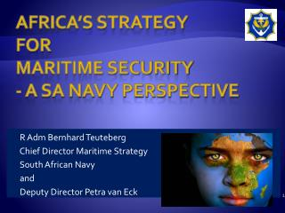 Africa's Strategy for maritime security - A SA Navy perspective