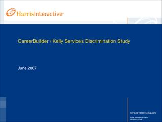 CareerBuilder / Kelly Services Discrimination Study