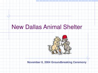 New Dallas Animal Shelter