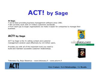 ACT!  by Sage