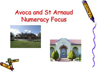 Avoca and St Arnaud  Numeracy Focus
