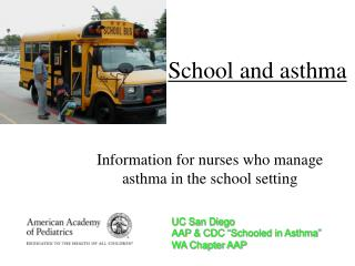 School and asthma