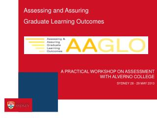 Assessing and Assuring  Graduate  L earning Outcomes