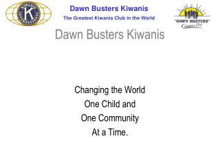 Dawn Busters Kiwanis